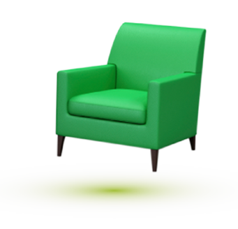 chaise verte 2 - Chaise Verte